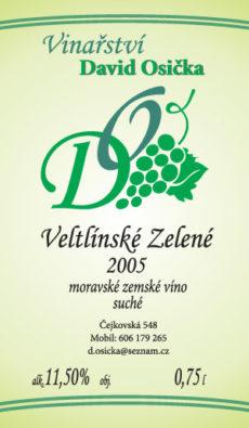Etiketa vinařství